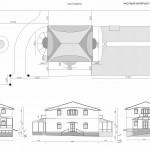 План участка и фасады