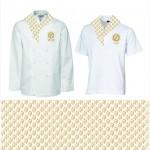 Графическое решение и композиционное  расположение на текстильной сувенирной продукции: майка, платок, шарф и др.