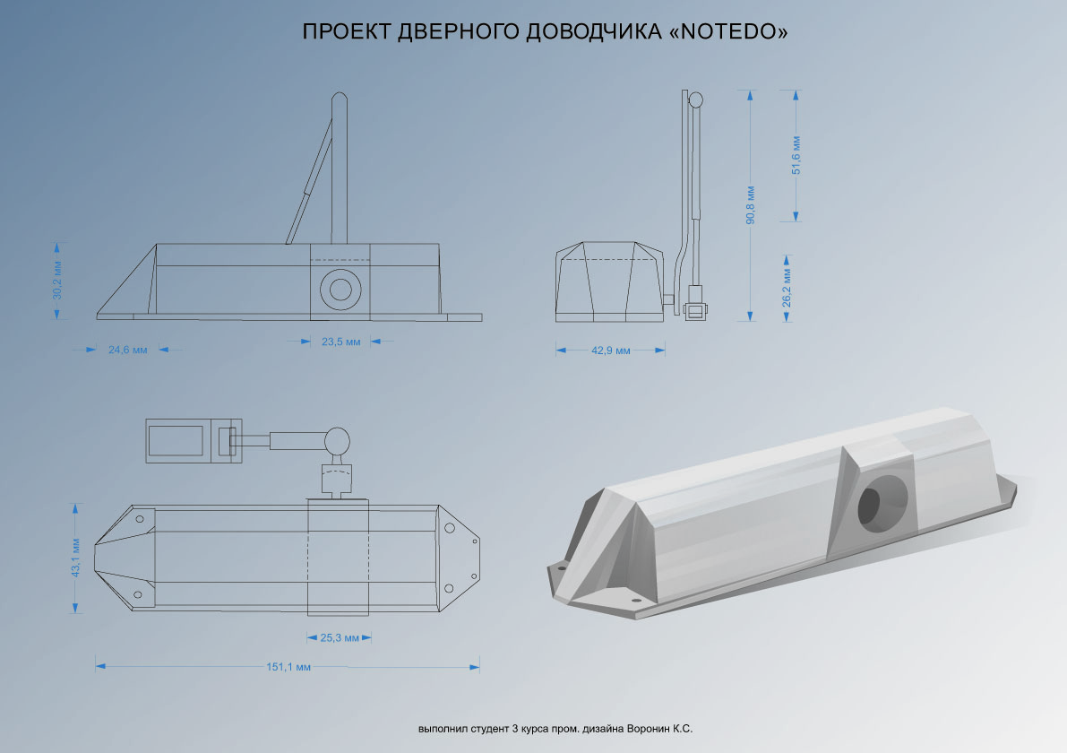 3 место Константин Воронин